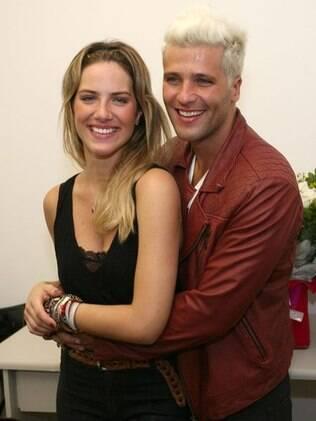 O casal Giovanna Ewbank e Bruno Gagliasso