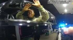 Militar negro sofre violência policial por dirigir carro sem placa nos EUA