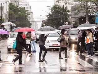 SP pode ter recorde de frio e chuva