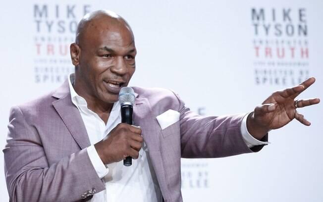 Mike Tyson foi preso em 1992 quando ainda era boxeador