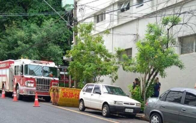 Incêndio atinge Hospital Beneficência Portuguesa em Ribeirão Preto