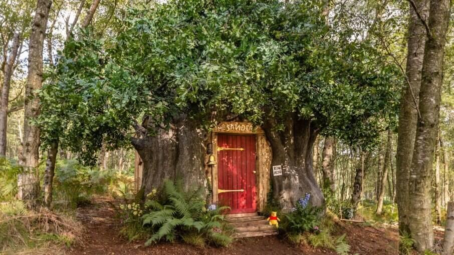 Casa da árvore do Ursinho Pooh poderá ser alugada por fãs do persoange