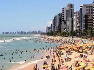 Boa Viagem, em Recife, tem as areias mais disputadas da cidade