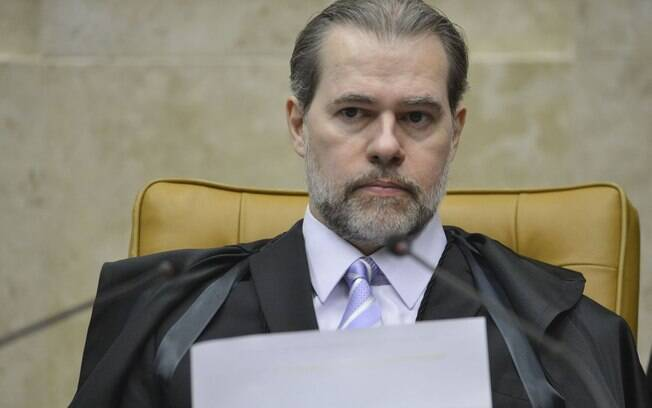 Presidente do STF ministro Dias Toffoli