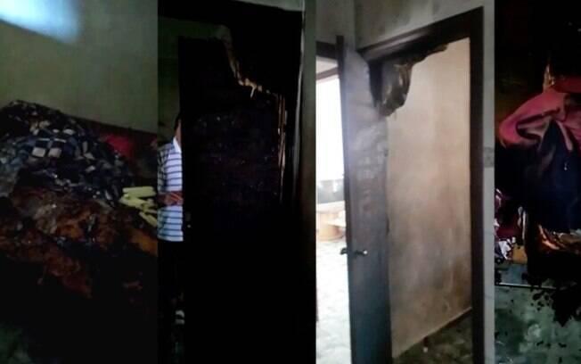 Explosão em casa deixa duas pessoas feridas em Hortolândia