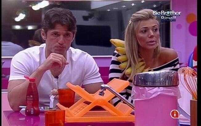 João Maurício e Fabiana especulam combinação de votos do Quarto Floresta