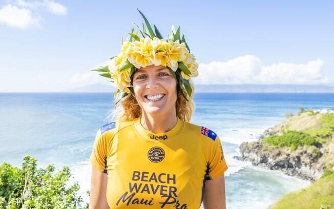 Australiana Stephanie Gilmore venceu pela sétima vez o mundial de surfe feminino