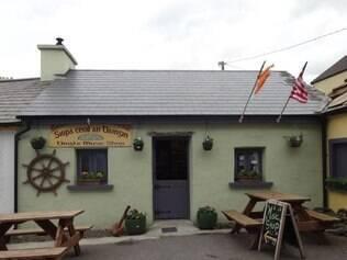 Irlanda Ar de veraneio até em uma lojinha de música em Dingle - Foto Andrea Juste