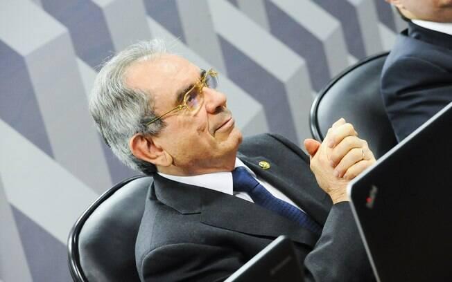 O presidente da Comissão de impeachment no Senado, senador Raimundo Lira (PMDB-PB). Foto: Marcos Oliveira/Agência Senado