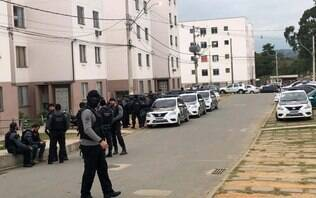 Polícia encontra cemitério clandestino da milícia de Queimados