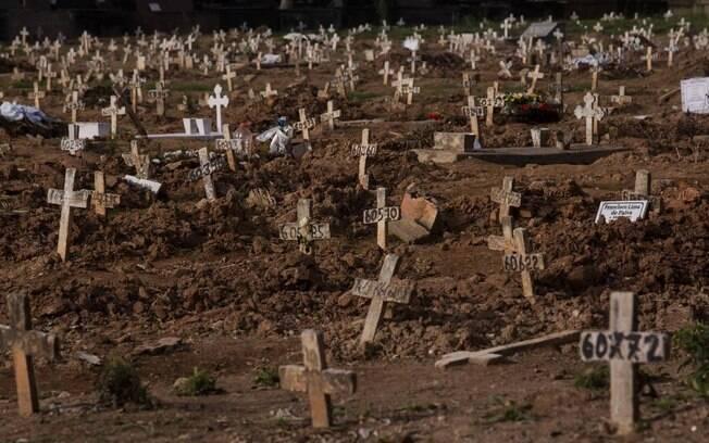 Cemitério do Caju, no Rio