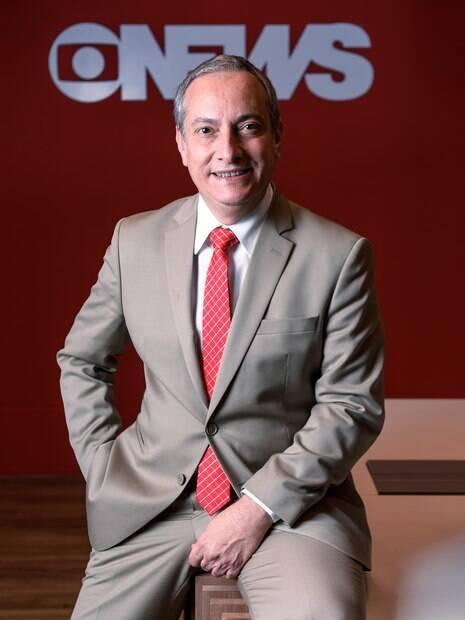 José Roberto Burnier comanda o novo jornal da manhã da GloboNews,