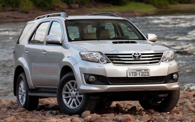 Toyota SW4: O último SUV-raiz do nosso mercado vem perdendo vendas e caiu da 8ª para a 11ª posição no segmento