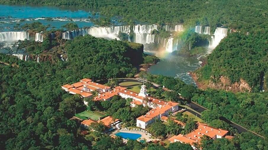 Cataratas do Iguaçu na Tríplice fronteira