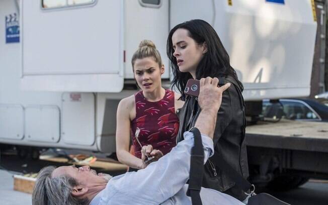 Cena da segunda temporada de Jessica Jones, que estreia nesta quinta-feira (8) na Netflix