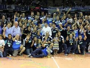 Após faturar o bicampeonato da Superliga, o Sada consolidou o seu domínio ao conquistar a quinta taça na temporada