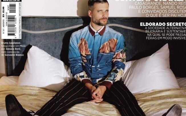 Bruno Gagliasso é capa da revista GQ de agosto