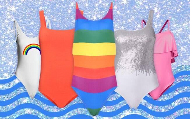Não faltam opções de bodies para criar o look de carnaval