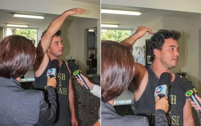 Renner foi levado ao 27º Distrito Policial, no bairro de Campo Belo, onde foi realizado o teste do bafômetro que constatou embriaguez. Foto: Marco Ambrosio/AgNews