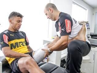 Marcos Rocha e Lucas Pratto já iniciaram o tratamento na Cidade do Galo