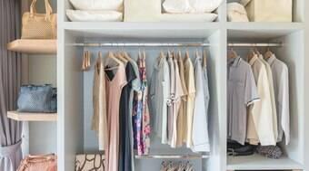 Economize dinheiro e tempo com um guarda-roupa funcional