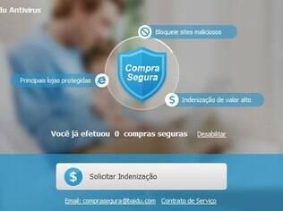Antivírus garante indenização contra golpes