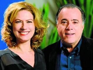 Patrícia Pillar e Tony Ramos estão, basicamente, no centro da história, que circula em torno de um assassinato