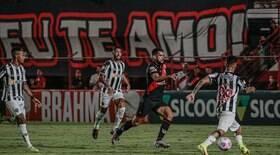 Galo sai na frente, mas leva virada do Atlético-GO