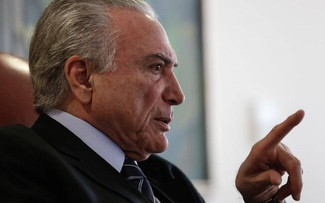 Presidente Michel Temer afirmou que a segunda denúncia contra ele é 'inepta' e 'sem sentido'