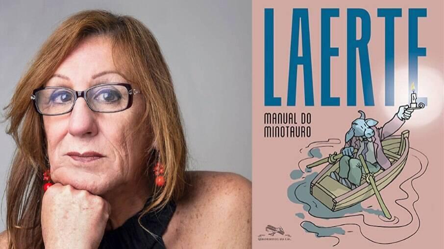 """A cartunista Laerte acaba de lançar seu novo livro """"Manual do Minotauro"""", coletânea com mais de 1500 tiras publicadas entre 2004 e 2015"""