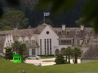 DotCom foi preso em sua casa, na Nova Zelândia, avaliada em US$ 23 milhões