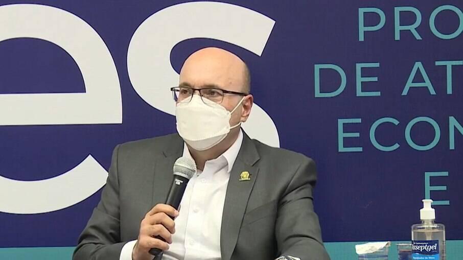 Dário Saadi anunciou medidas para retomada econômica.