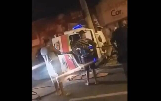 Acidente ocorreu no bairro de Campo Grande