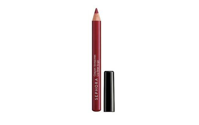 Lápis labial Lip liner to go, da Sephora, que é vendido por R$19,00 no site da Sephora
