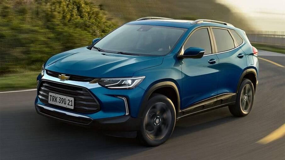 Chevrolet Tracker Premier 1.2 topo de linha passa a ter preço sugerido que parte  de R$ 126.830 com os aumentos de preços