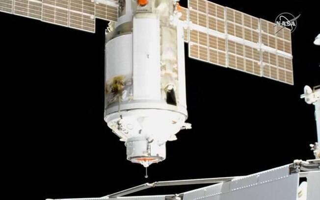 """Incidente com o módulo russo Nauka tira a Estação Espacial Internacional """"do lugar"""""""