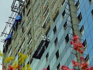 Golden Tulip, no centro de Belo Horizonte, está sendo finalizado