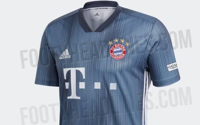 Bayern de Munique usará terceiro uniforme feito de plástico retirado do oceano