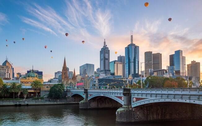 Lugares para viajar em janeiro: Melbourne vai te encantar, seja com a vida noturna, seja com a pura e simples experiência cultural