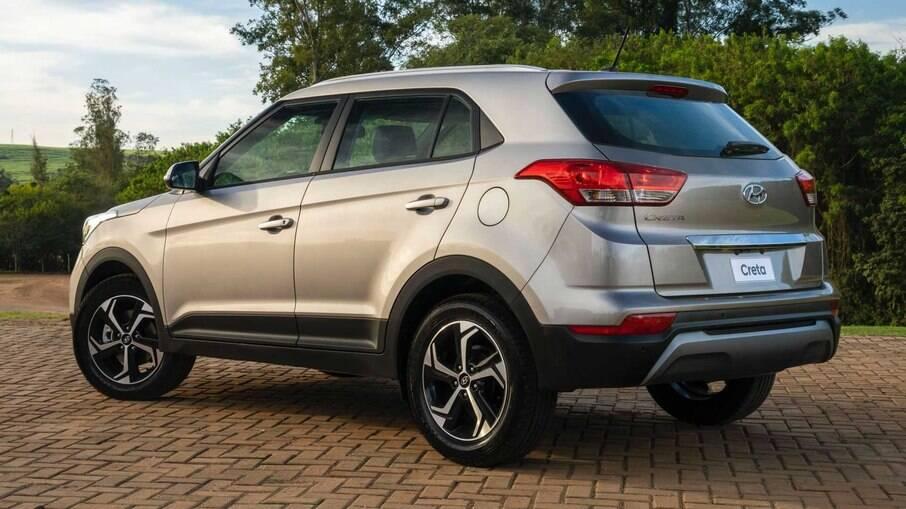 Hyundai Creta é outro modelo que se destaca entre os que mais se valorizaram durante a pandemia