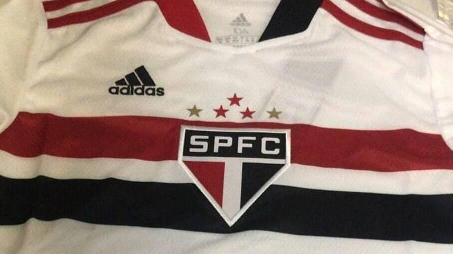 Suposta nova camisa do São Paulo