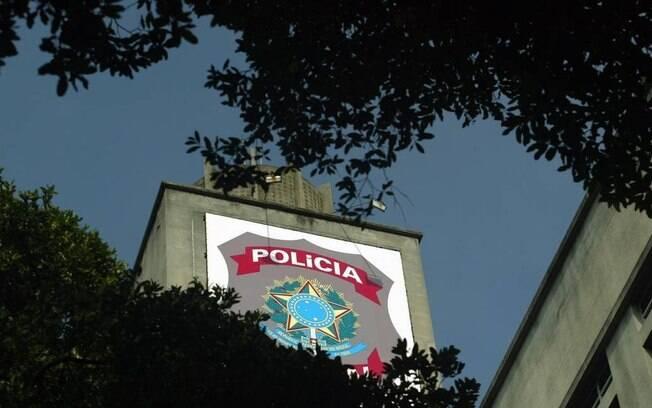 Torre do prédio da Polícia Federal no Centro do Rio