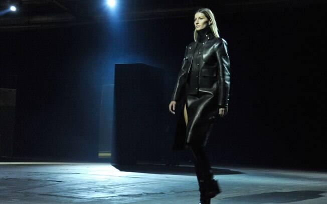Gisele Bündchen desfilou de surpresa na Semana de Moda de Nova York