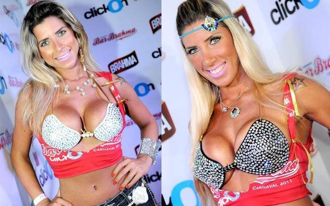 Ana Paula é irmã de Tatiane Minerato, ex-Hipertensão e rainha de bateria da Gaviões da Fiel