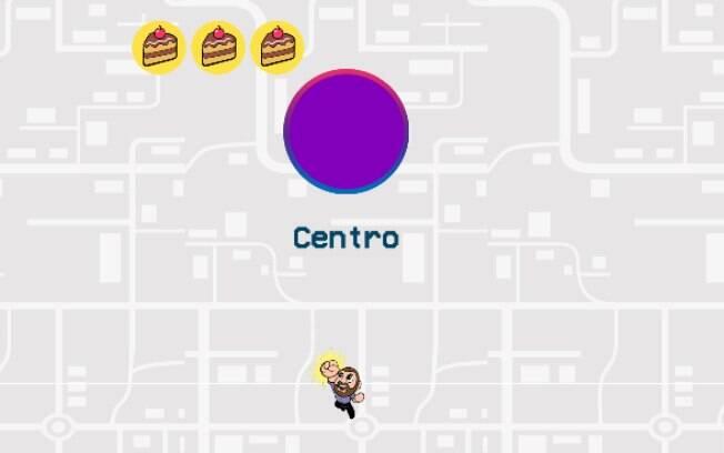 No jogo, o usuário precisa levar o candidato até a prefeitura de SP