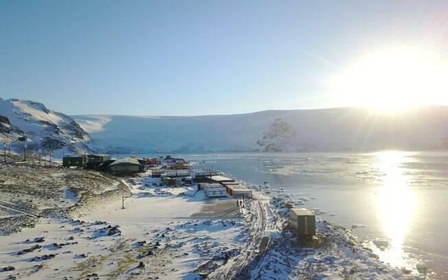 Nova estação do Brasil na Antártica