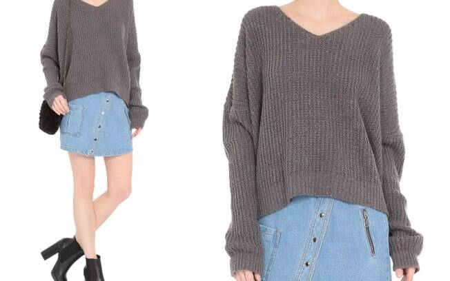 Suéter Tricot Trança Market 33