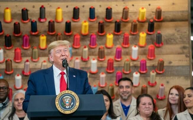 Trump vive um risco de impeachment nos EUA