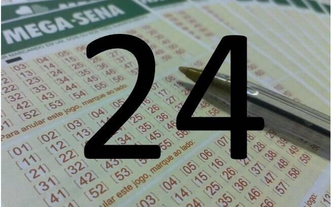O 24 saiu em 182 sorteios. Foto: Divulgação