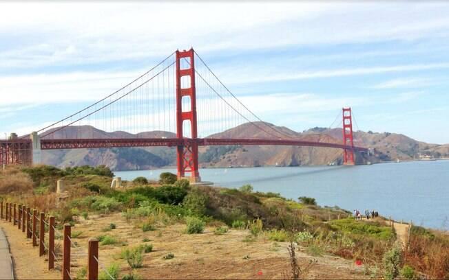 Ponte Gonden State é um cartão postal de São Francisco
